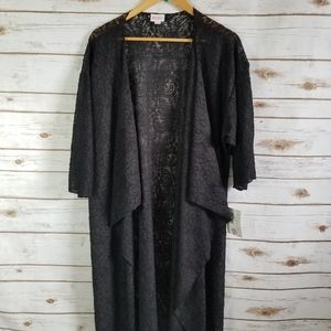 Lularoe   Noir Lace Black Shirley